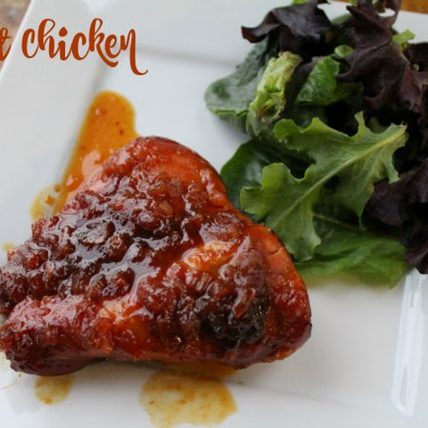 Apricot Chicken Recipe - Freezer to Slow Cooker Meal