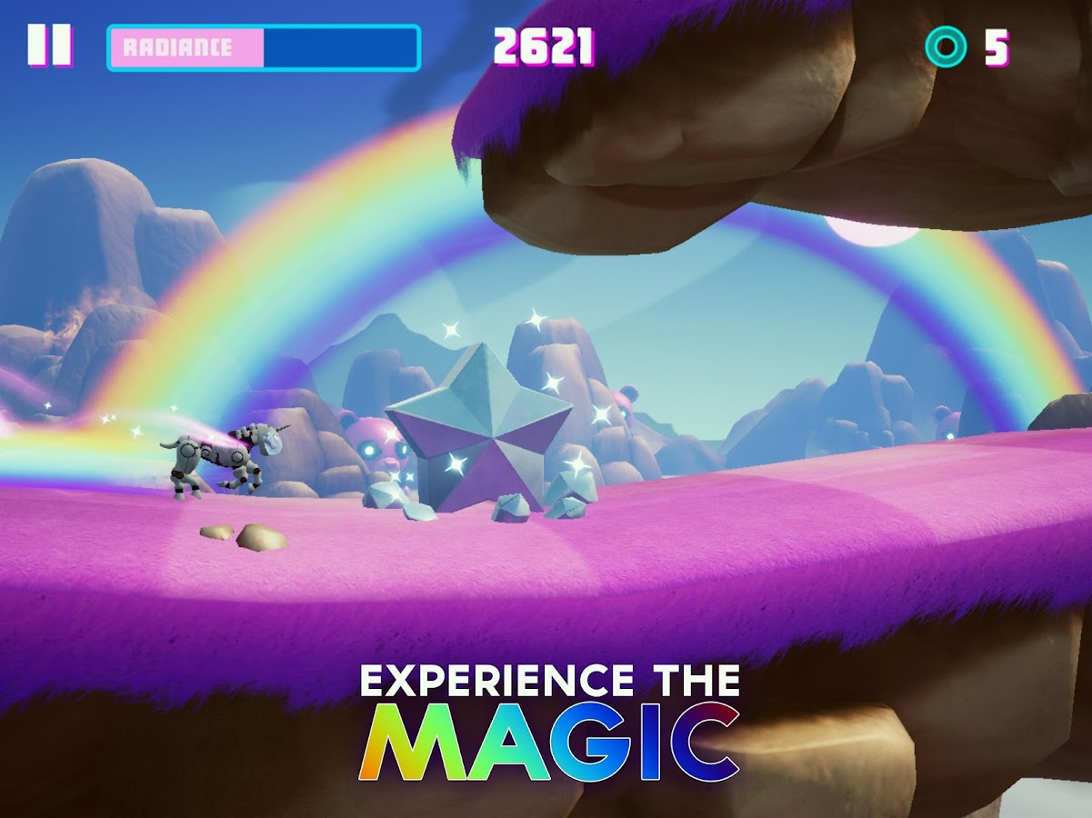 Robot Unicorn Attack 3 Screenshot 9