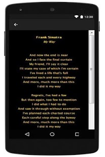 Best Lyrics Frank Sinatra - screenshot