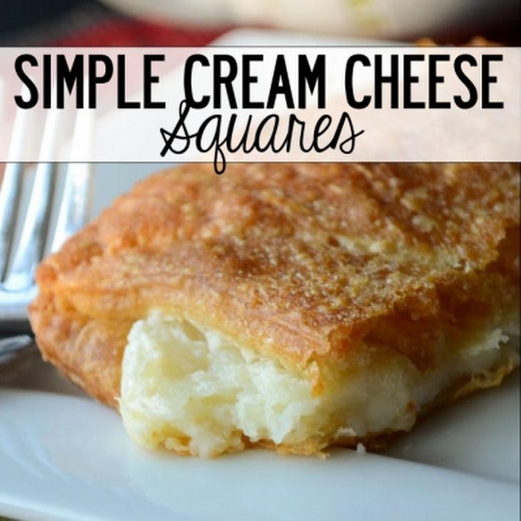 Simple Cream Cheese Squares