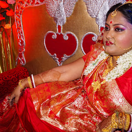 by Sambit Bandyopadhyay - Wedding Bride