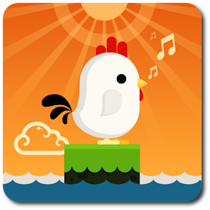 Chicken Scream Go Icon