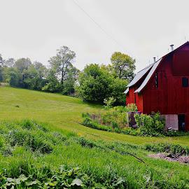 the farm by Jon Radtke - Landscapes Prairies, Meadows & Fields ( the farm )