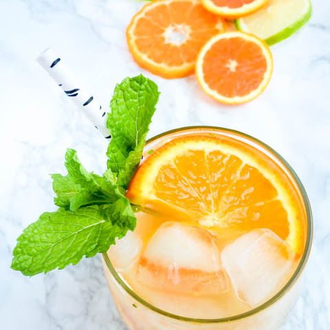 Orange Blossom Citrus Mojitos