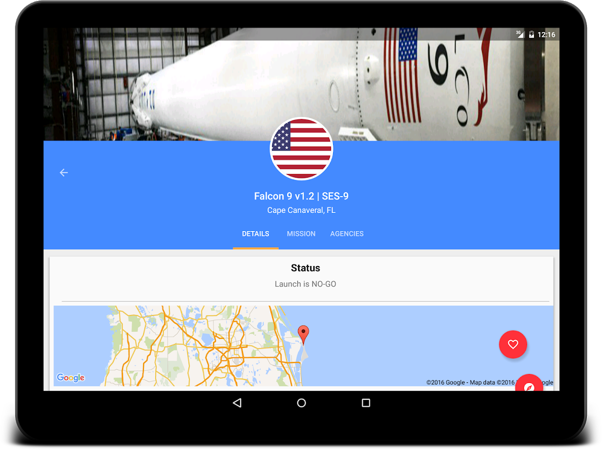 Space Launch Now Screenshot 4