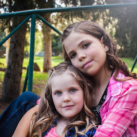 Sisters by Valerie Higgs - Babies & Children Child Portraits