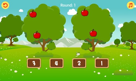 Counting Apples Game - screenshot