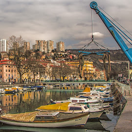 city harbor by Eseker RI - Transportation Boats (  )