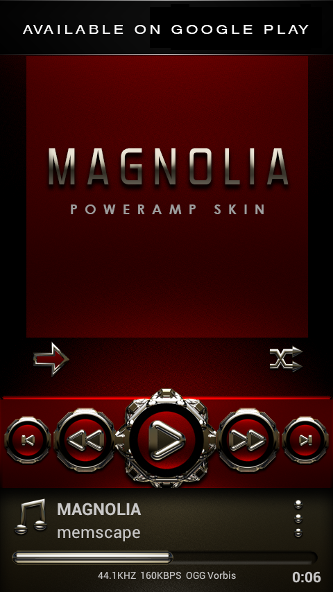MAGNOLIA Next Launcher Theme Screenshot 6