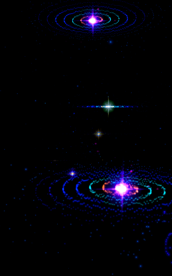3D Stars Music Visualizer Screenshot 3