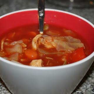 Chicken Cabbage Soup Healthy Recipes