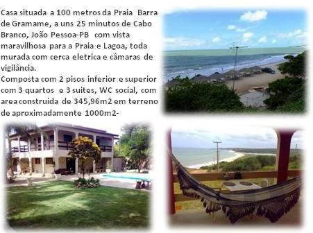 Casa à venda, 345 m² por R$ 600.000 - Barra de Gramame - Conde/PB