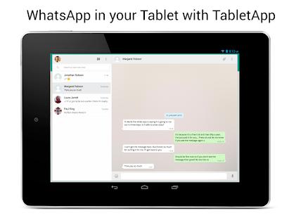 Free TabletApp for WhatsApp APK for Windows 8