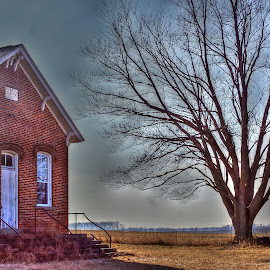 An old schoolhouse by Patti Pappas - Buildings & Architecture Public & Historical ( michigan, schoolhouse, historic )