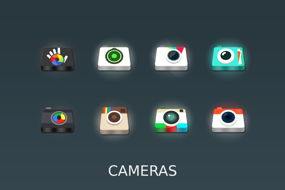 LED 3D Icon Pack Screenshot 9