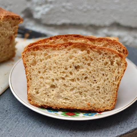 No-Knead Light Whole Wheat Bread