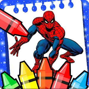 The amazing spider hero Coloring Pages