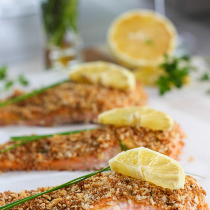 Quick And Easy Pecan-Crusted Dijon Salmon Recipe — Dishmaps
