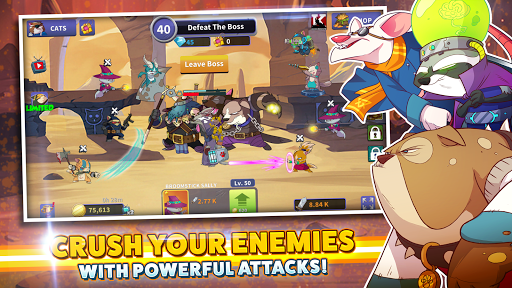 Tap Cats: Idle Warfare - screenshot