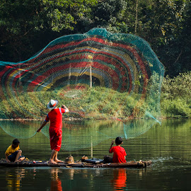 The Fisherman by Wisnu Widayat - People Professional People