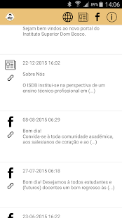 ISDB App Info Escola - screenshot