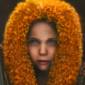 Lion girl by Lucia STA - Babies & Children Child Portraits