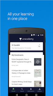 Free Download Unacademy Learning App APK for Blackberry