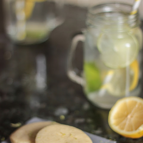 Lemon & Lime Shortbread Cookies