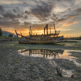 Bangkai Kapal by Sianak Desa - Landscapes Sunsets & Sunrises