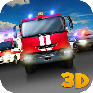 Emergency Car Racing Fever 3D