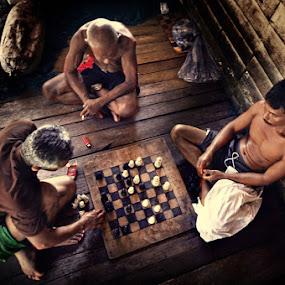 step off by Assoka Andrya - People Portraits of Men
