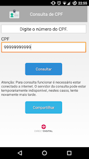Consulta de CPF- screenshot thumbnail