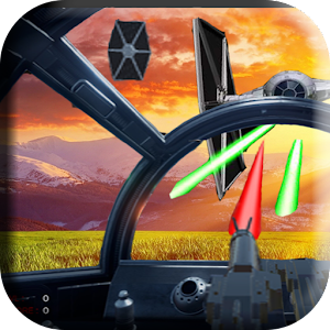 Download X STAR WING Fighter STAR WAR BATTLE Shooter in AR For PC Windows and Mac