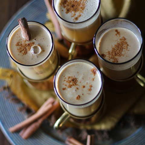 Hot Buttered Rum with Cider