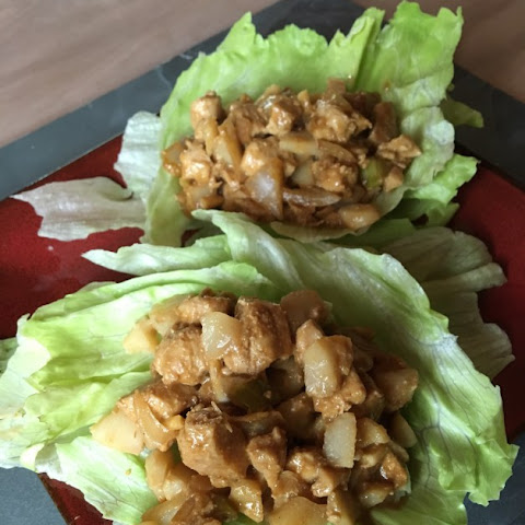 Gluten Free Chicken Lettuce Wraps