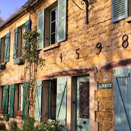 maison village by Nathalie Coget - Buildings & Architecture Homes