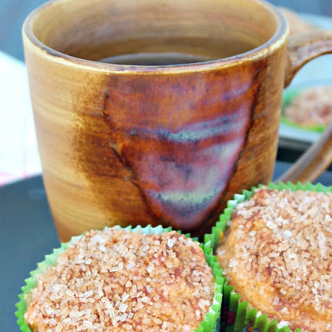 Cinnamon-Crunch Sweet Potato Muffins