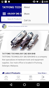 Tatfong Technology - screenshot