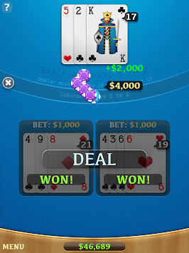 Blackjack 45162 APK screenshot thumbnail 8