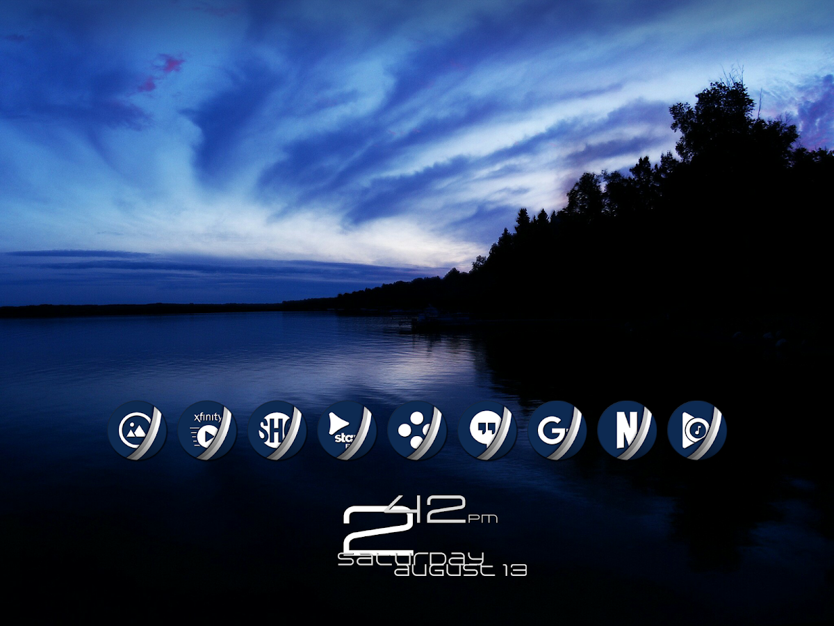 Naz Dal Blue - Icon Pack Screenshot 12