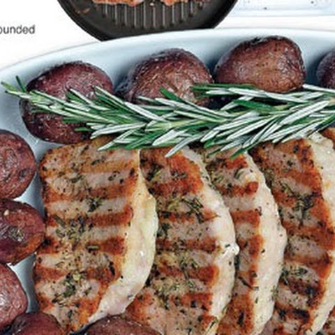Rosemary Grilled Loin Chops