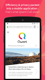 Qwant Screenshot