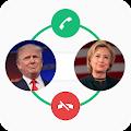 Donald Hillary Calling Prank APK for Bluestacks
