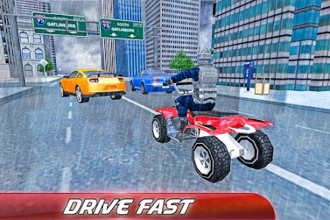 Police Quad Bike Chase:4x4 Sim - screenshot