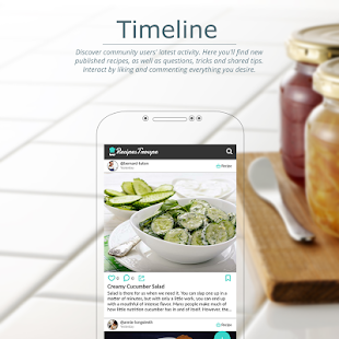 App RecipesTroupe - Your Cooking Community APK for Windows Phone