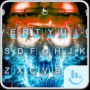 Skull Monkey King Keyboard Theme For PC