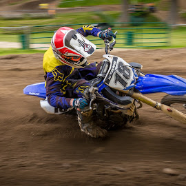 18 by Kenton Knutson - Sports & Fitness Motorsports ( motocross, moto, mx, dirt, motion blur )