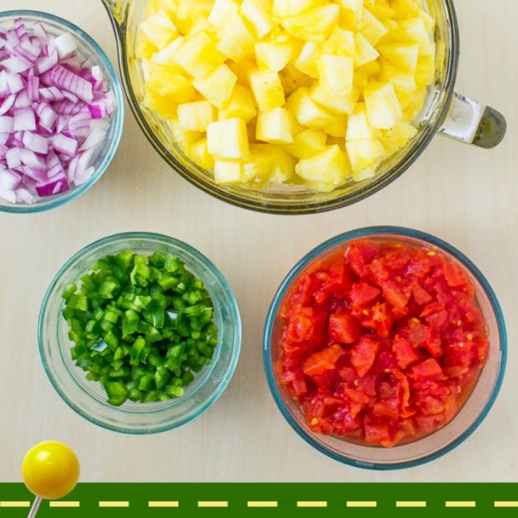 Sweet and Spicy Pineapple Salsa Recipe | Yummly