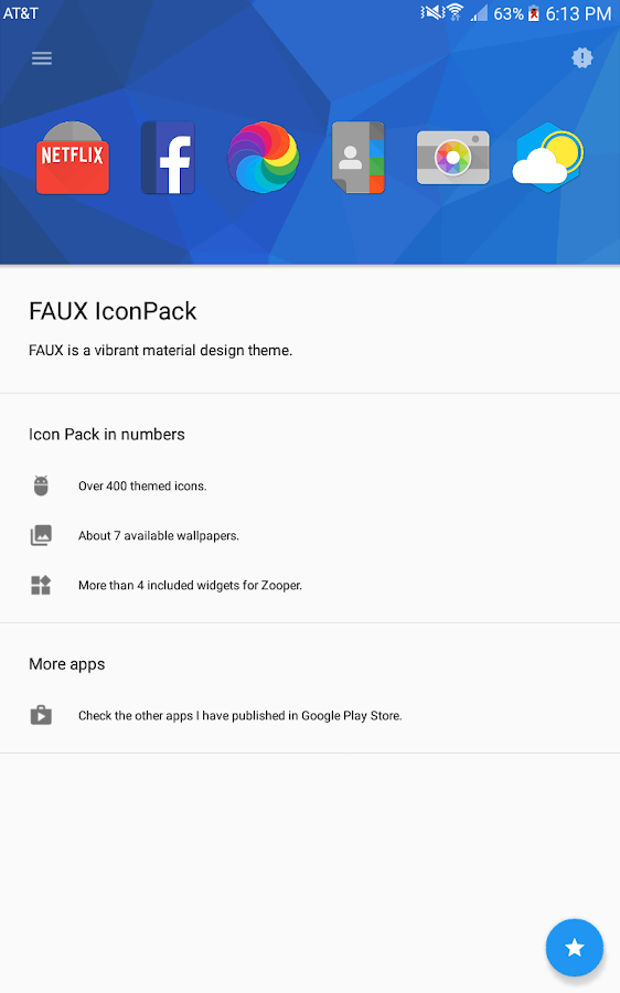 FAUX Icon Pack Screenshot 10