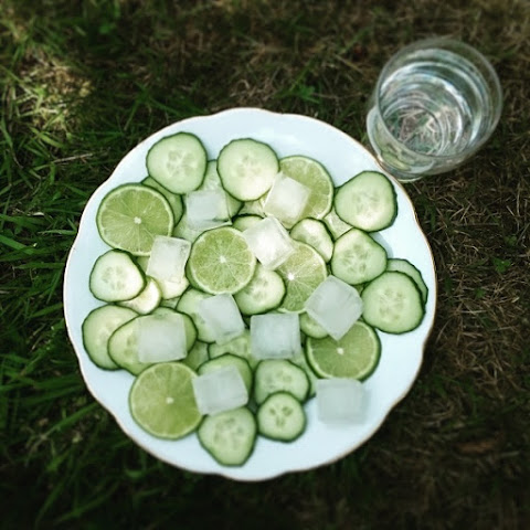 Cucumber Lime Water